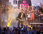 Thomas Rhett performs at the 2016 CMT Music awards at the Bridgestone Arena on June 8 2016 in Nashville Tennessee