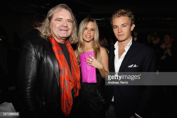 Thomas Sabo and formula 1 driver Nico Rosberg with partner Vivian Sibold attend the launch party for Thomas Sabo's Sterling Silver collection S/S...