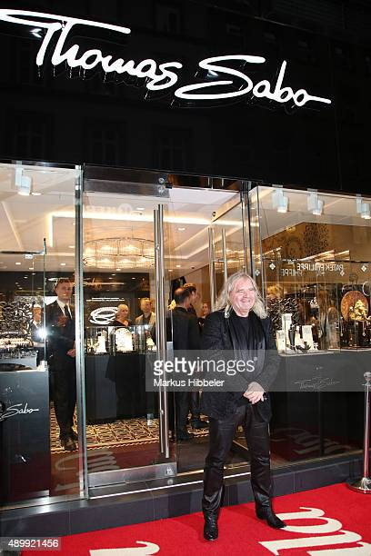 Thomas Sabo attends the Thomas Sabo grand flagship store opening on September 24 2015 in Hamburg Germany