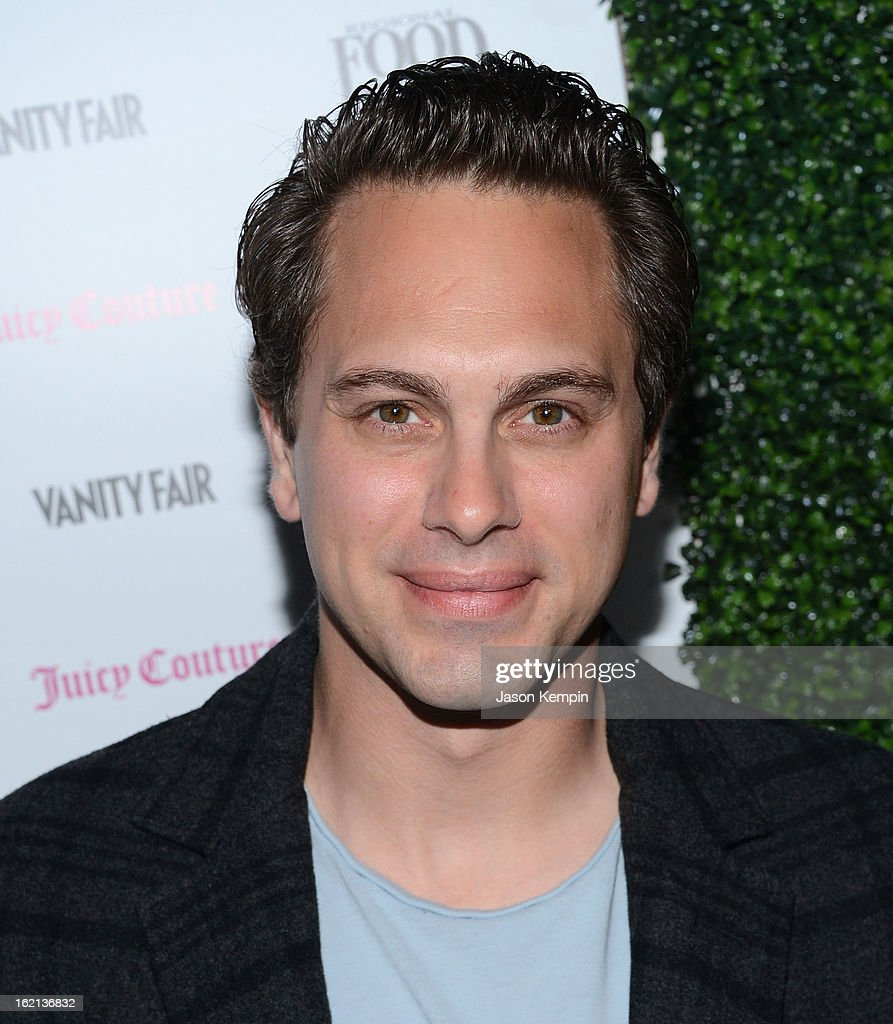 <a gi-track='captionPersonalityLinkClicked' href=/galleries/search?phrase=Thomas+Sadoski&family=editorial&specificpeople=2853351 ng-click='$event.stopPropagation()'>Thomas Sadoski</a> attends the Vanity Fair And Juicy Couture Celebration Of The 2013 Vanities Calendar With Olivia Munn at Chateau Marmont on February 18, 2013 in Los Angeles, California.