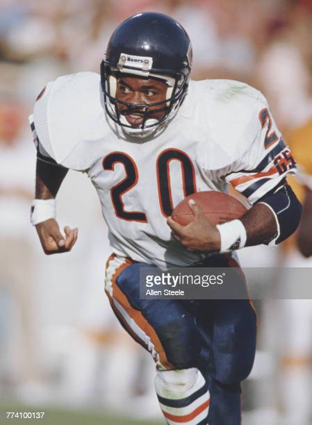 Thomas Sanders Running Back for the Chicago Bears during the National Football Conference Central game against the Tampa Bay Buccaneers on 20...