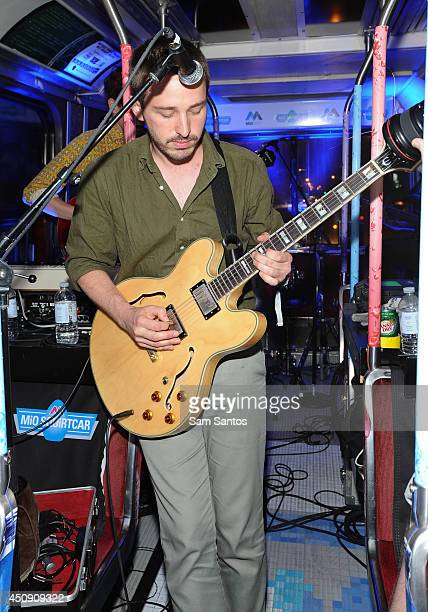 Thomas Savage of Kins performs on the NXNE MiO Squirtcar Day 2 on June 19 2014 in Toronto Canada