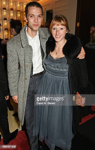 Thomas Shickle and Molly Goddard attend the British Fashion Awards official afterparty hosted by St Martins Lane and sponsored by Ciroc Vodka at St...