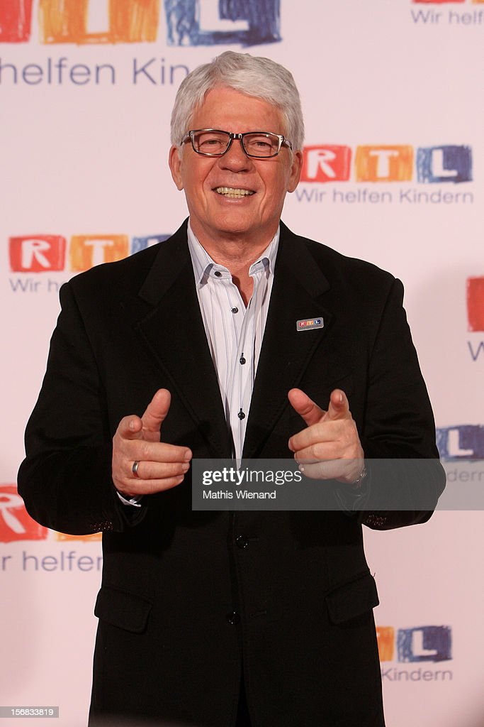 Thomas Stein attends the 'RTL Spendenmarathon' at RTL Studio Huerth on November 22, 2012 in Cologne, Germany.
