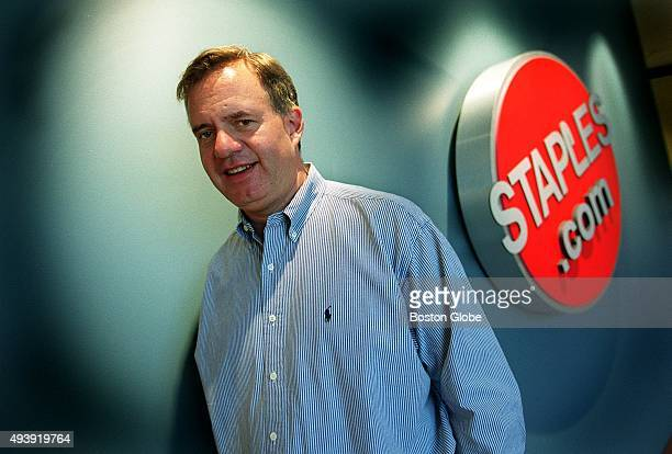 Thomas Stemberg the founder of Staples outside the Staplescom offices May 4 2000