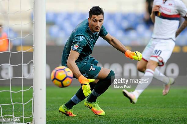 Thomas Strakoscha of SS Lazio in action during the Serie A match between SS Lazio and Genoa CFC at Stadio Olimpico on November 20 2016 in Rome Italy