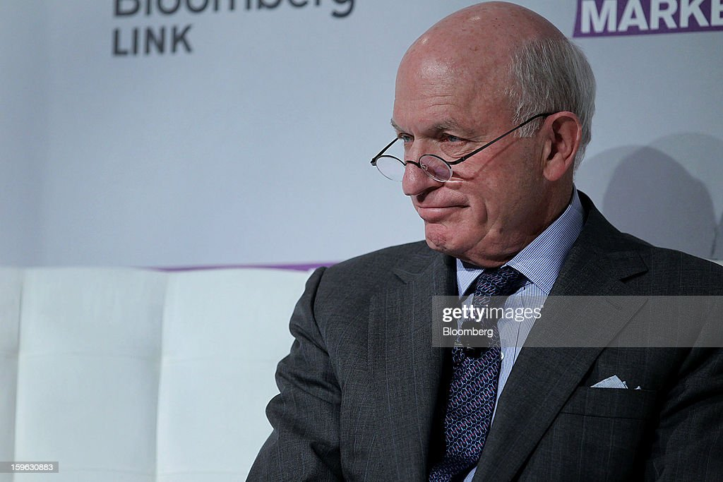Thomas Strauss, chairman of Ramius LLC and vice chairman of Cowen Group Inc., listens at the Bloomberg Global Markets Summit in New York, U.S., on Thursday, Jan. 17, 2013. The Bloomberg Global Markets Summit, co-hosted by Foreign Affairs Magazine and Bloomberg LINK, convenes market makers and market movers as investors map their strategy for the year ahead. Photographer: Jin Lee/Bloomberg via Getty Images