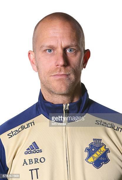 Thomas Thudin Halvfigur @Leverans Allsvenskan 2016 Fotboll