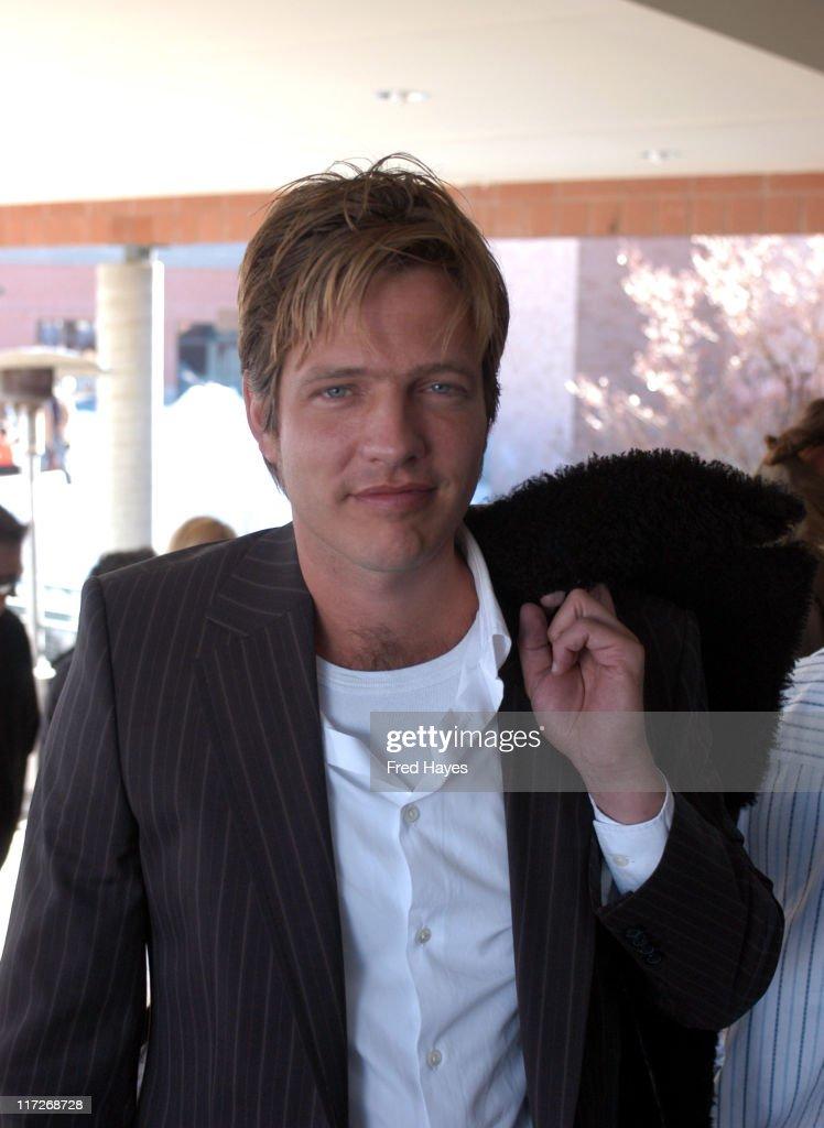 Thomas Vinterberg during 2005 Sundance Film Festival Dear Wendy Premiere at Eccles Theatre in Park City Utah United States