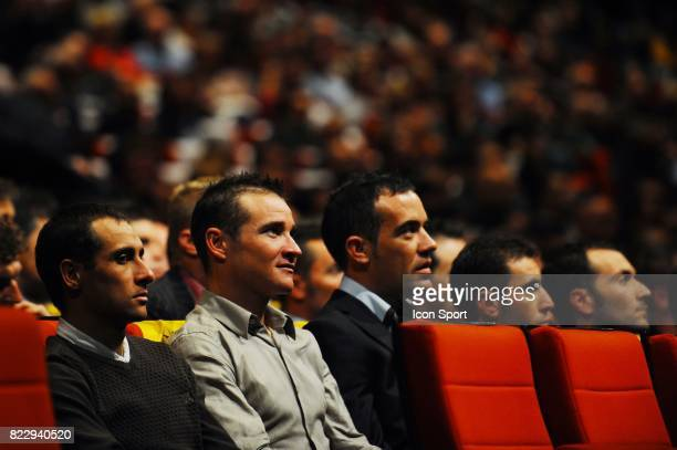 Thomas Voeckler / Anthony Charteau Presentation du tour de france 2011 Palais des Congres Paris
