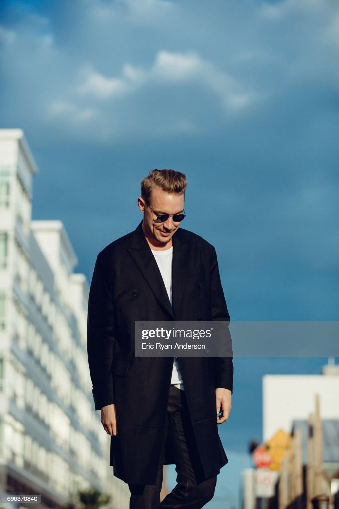 Thomas Wesley Pentz, American DJ known as Diplo is photographed for Billboard Magazine on May 19, 2016 in New York City.