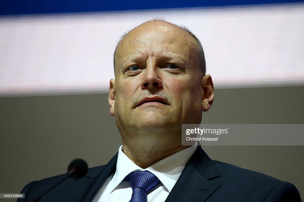 Thomas Wiese, supervisory board attends the FC Schalke 04 general assembly at Veltins Arena on June 26, 2016 in Gelsenkirchen, Germany.