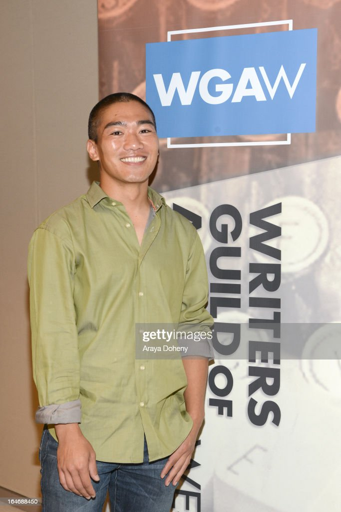 Thomas Wong attends the WGAW's 2013 TV Staffing Brief - Press Conference on March 26, 2013 in Los Angeles, California.