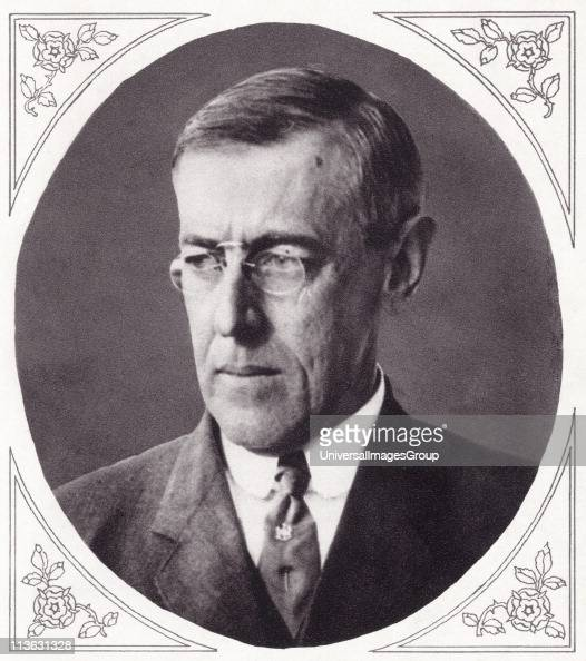 people woodrow wilson president united states