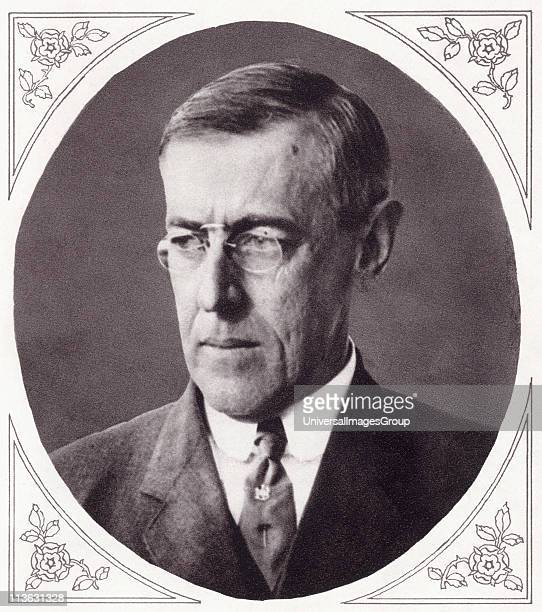 Woodrow wilson stock photos and pictures getty images for Who is the most famous president of the united states