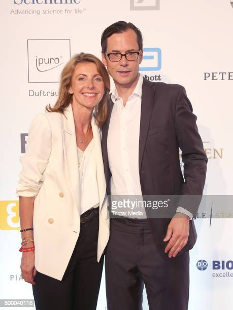 Thomas Wuelfing and his wife attend the Charity Evening 'Das kleine Herz im Zentrum' at Curio Haus on June 22 2017 in Hamburg Germany