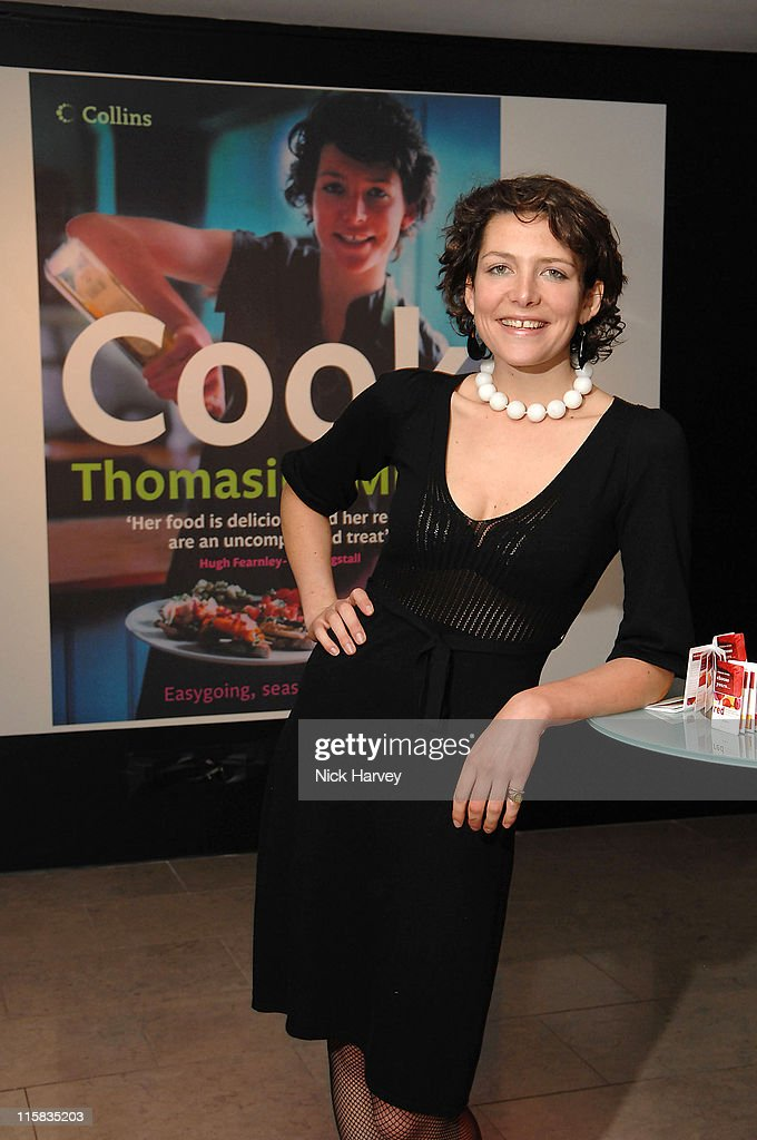 Thomasina Miers during Launch of the Thomasina Miers Cookbook, Entitled 'COOK' at The Hospital in London, Great Britain.