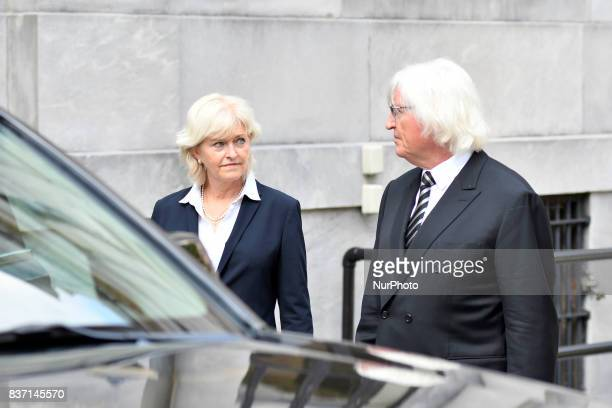 ThomasMesereau and Kathleen Bliss attorneys for US Actor Bill Cosby departs a pretrial hearing at Montgomery County Courthouse in Norristown on...