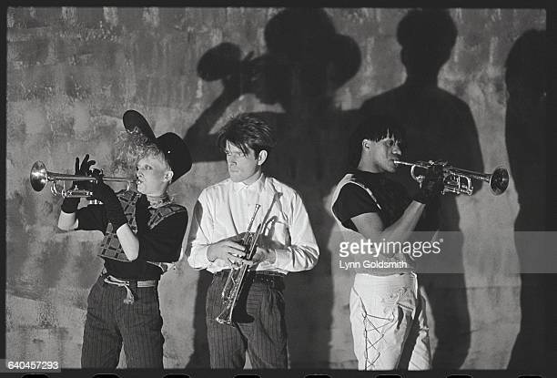 Thompson Twins During Performance