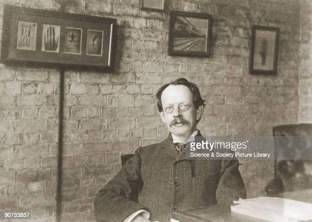Thomson discoverer of the electron photographed at his desk After graduating from Trinity College Cambridge Thomson turned the Cavendish Laboratory...