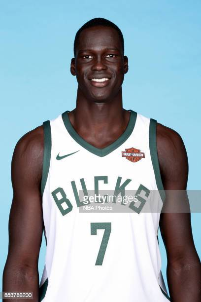 Thon Maker of the Milwaukee Bucks poses for a head shot during media day on September 25 2017 at the Froedtert and Medical College of Wisconsin...