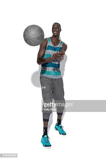 Thon Maker poses for a portrait during the NBPA Top 100 Camp on June 18 2015 at John Paul Jones Arena in Charlottesville Virginia