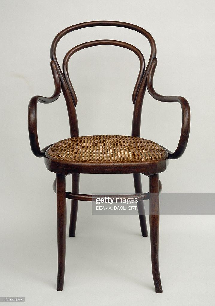 Thonet chair steamed beech Austria 20th century