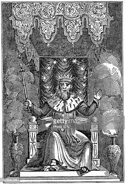 Thor son of Woden or Odin the second god in the ancient Scandinavian pantheon1834WoodcutLondon
