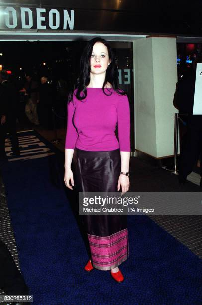 Thora Birch at the closing night gala of The London Film Festival for the European premiere of Sam Mendes' cinematic debut American Beauty featuring...