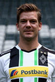 Thorben Marx poses at Borussia Park Stadium on July 10 2014 in Moenchengladbach Germany