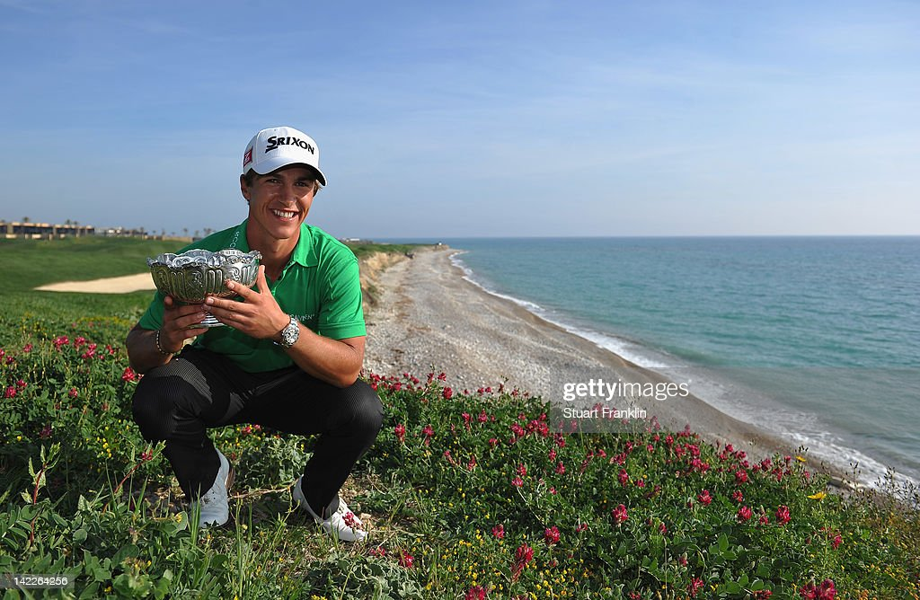 <a gi-track='captionPersonalityLinkClicked' href=/galleries/search?phrase=Thorbjorn+Olesen&family=editorial&specificpeople=6545194 ng-click='$event.stopPropagation()'>Thorbjorn Olesen</a> of Denmark hods the trophy after winning the Sicilian Open at Verdura Golf and Spa Resort on April 1, 2012 in Sciacca, Italy.