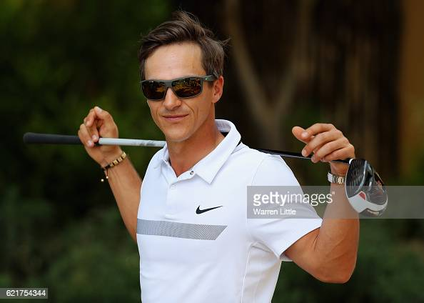 Thorbjorn Olesen of Denmark poses for a portrait ahead of the Nedbank Golf Challenge at the Gary Player CC on November 8 2016 in Sun City South Africa