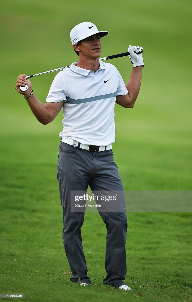 <a gi-track='captionPersonalityLinkClicked' href=/galleries/search?phrase=Thorbjorn+Olesen&family=editorial&specificpeople=6545194 ng-click='$event.stopPropagation()'>Thorbjorn Olesen</a> of Denmark reacts to a shot during the second round of the AfrAsia Bank Mauritius Open at Heritage Golf Club on May 8, 2015 in Bel Ombre, Mauritius.