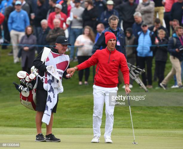 Thorbjørn Olesen of Denmark during The Group A between England and Denmark during day one of GolfSixes at Centhurion Club on May 6 2017 in StAlbans...