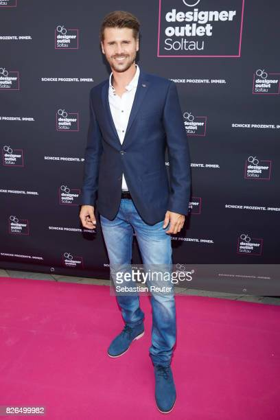 Thore Schoelermann attends the late night shopping at Designer Outlet Soltau on August 4 2017 in Soltau Germany