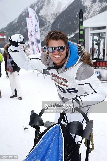 Thore Schoelermann attends the Sledge Dog Race Tirol Cross Mountain 2013 on December 07 2013 in Innsbruck Austria
