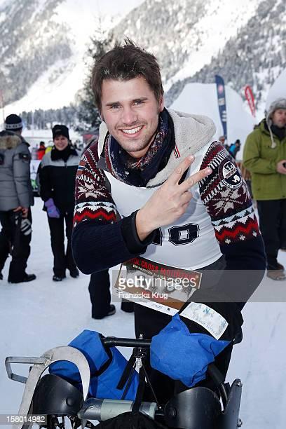 Thore Schoelermann attends the Tirol Cross Mountain Sledge Dog Race at Kuehtai Castle on December 08 in Kuehtai Austria
