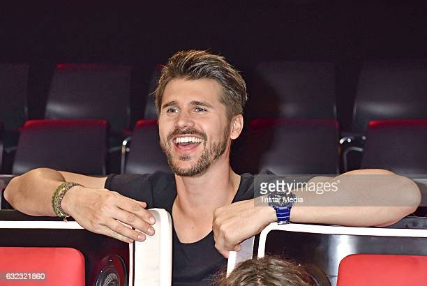 Thore Schoelermann during the 'The Voice Kids' photo call on January 21 2017 in Berlin Germany