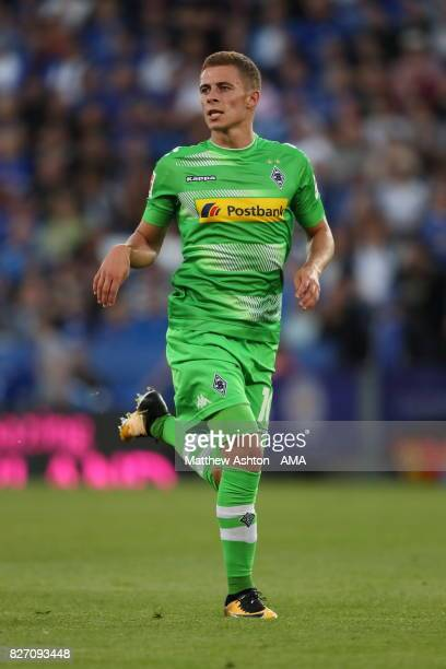 Thorgan Hazard of Borussia Moenchengladbach during the preseason friendly match between Leicester City and Borussia Moenchengladbach at The King...