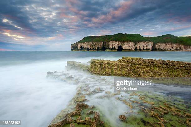 Thornwick Bay Sunrise, Flamborough Head, Yorkshire