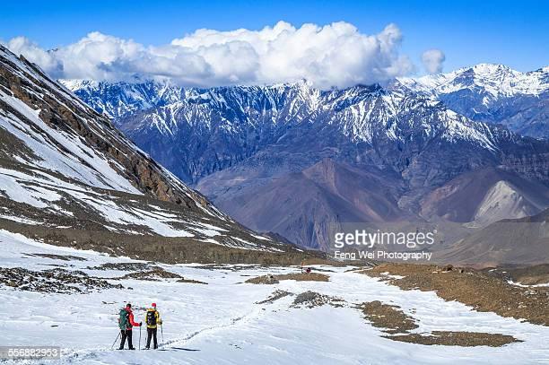Thorong La to Muktinath, Annapurna Circuit, Nepal