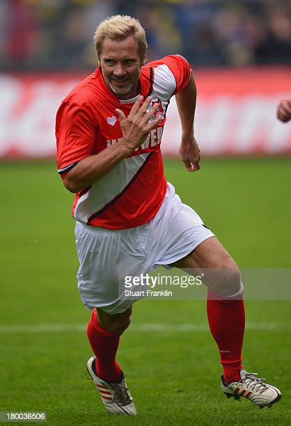 Thorsten Fink of team Hamburg in action during the day of the legends event at the Millentor stadium on September 8 2013 in Hamburg Germany