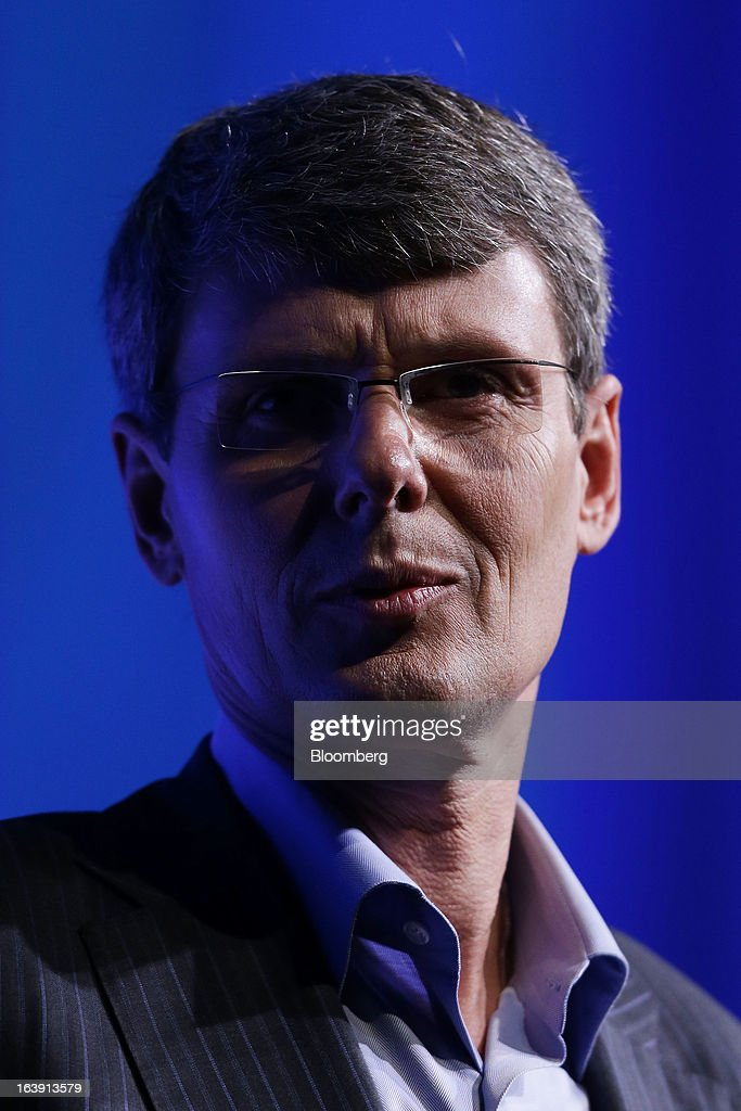 <a gi-track='captionPersonalityLinkClicked' href=/galleries/search?phrase=Thorsten+Heins&family=editorial&specificpeople=6636159 ng-click='$event.stopPropagation()'>Thorsten Heins</a>, chief executive officer of BlackBerry, speaks during the launch of the BlackBerry Z10 smartphone in Sydney, Australia, on Monday, March 18, 2013. BlackBerry, the Canadian smartphone maker that rolled out a new lineup in January, said on March 13 one of its 'established partners' is buying 1 million BlackBerry 10s, the biggest order in the company's history. Photographer: Brendon Thorne/Bloomberg via Getty Images