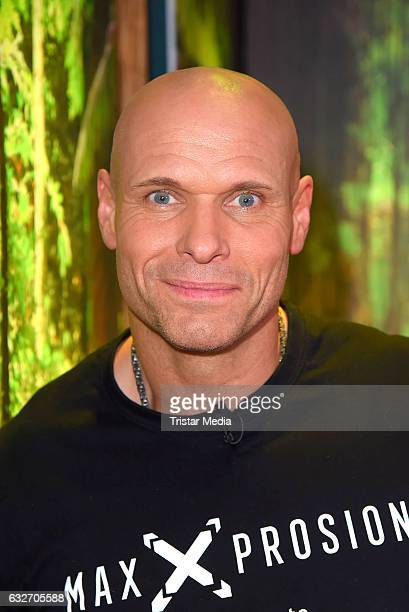 Thorsten Legat at the 'Ich bin ein Star HOlt mich hier raus' event hosted by BILD on January 25 2017 in Berlin Germany