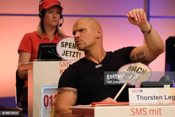 Thorsten Legat attends the 22nd RTL Telethon on November 24 2017 in Huerth Germany
