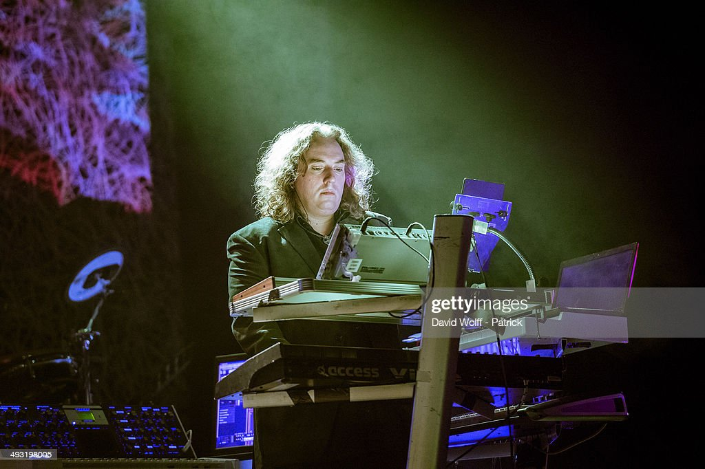 Thorsten Quaeschning from Tangerine Dream performs at Le Trianon on May 22, 2014 in Paris, France.