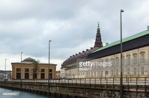 Thorvaldsen Museum, Copenhagen : Stock Photo