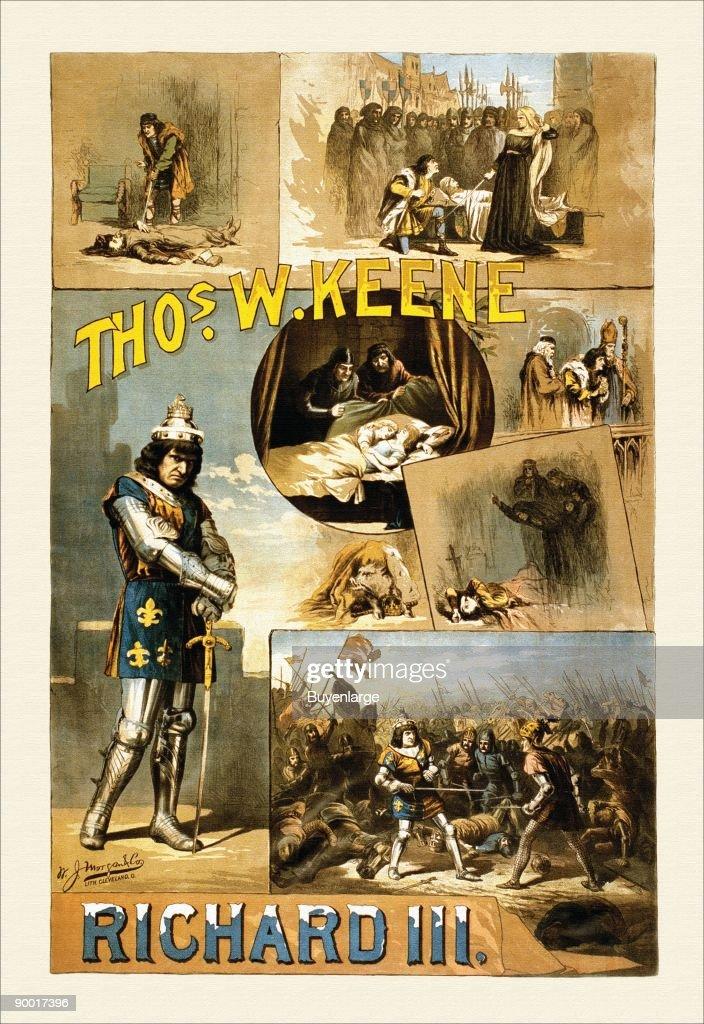 Thos W. Keene as Richard the Third. Keene (1840-1898