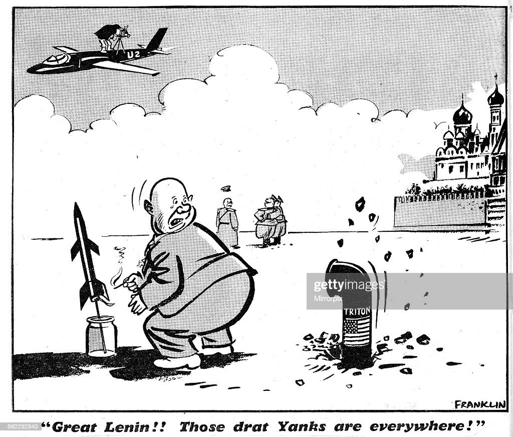 Image result for Khrushchev CARTOON