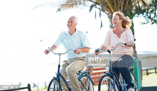 Those who bike together stay together